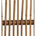 Koloniálne oválne kreslo Rattan z masívneho dreva mindi, bambusu a ratanu  90cm