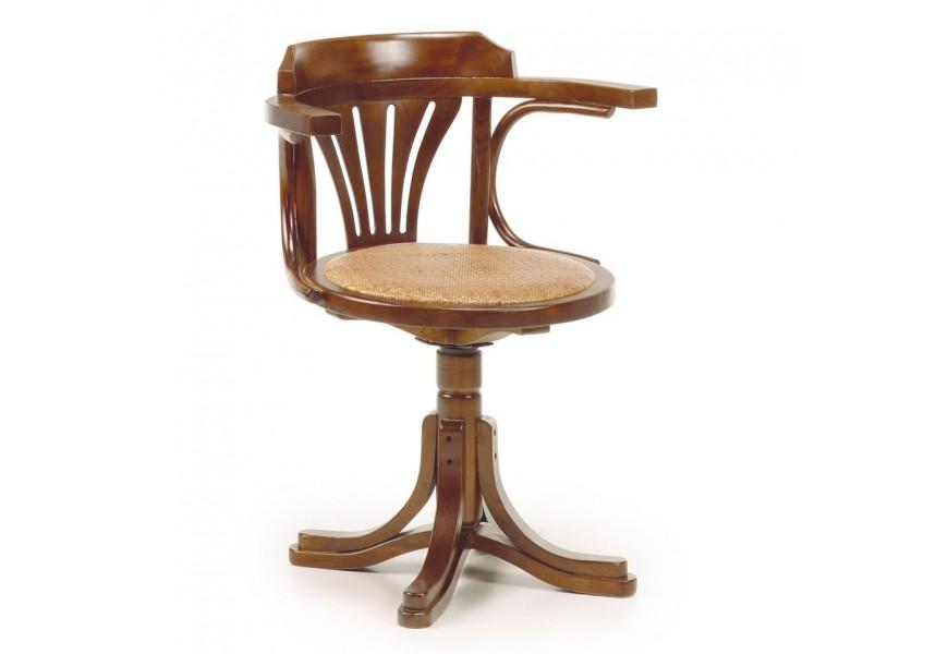Luxusná stolička otáčacia RATTAN