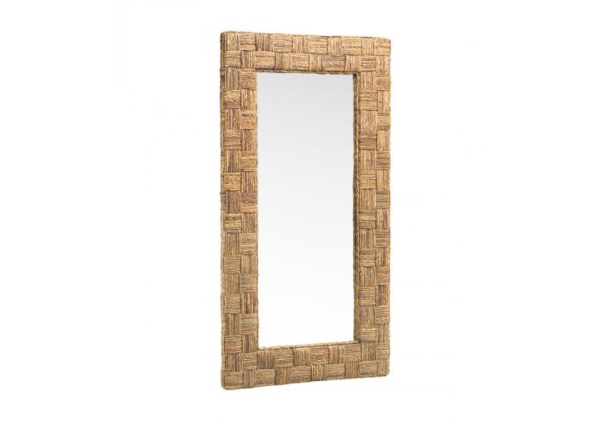 Štýlové zrkadlo RATTAN 150x80cm
