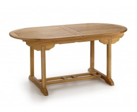 Rozkladací záhradný stôl oválny (roz.220cm) JARDIN