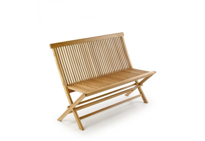 Štýlová záhradná lavica z teakového dreva Jardin