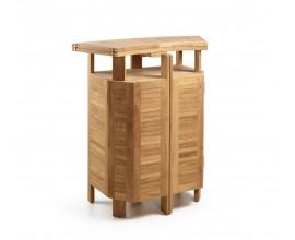 Záhradný skladací bar z teakového dreva JARDIN
