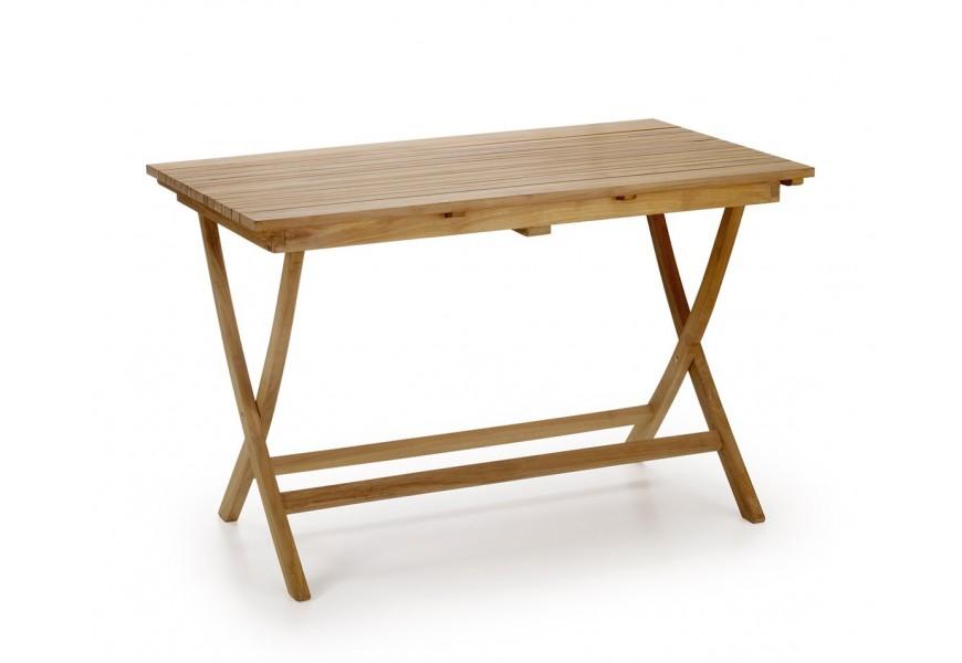 Štýlový záhradný stôl obdĺžnikový s teakového dreva Jardin