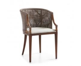 Štýlová stolička Luxor s lakťovými opierkami