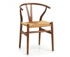 Štýlová koloniálna stolička NIMES ratanová