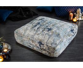 Moderný vankúš Svankie v modro-béžovej farbe 70cm