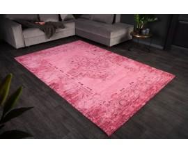 Luxusný ružový hranatý koberec Andie I s orientálnym vzorom