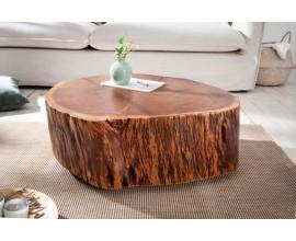 Industriálny konferenčný stolík Pure Nature z kmeňa stromu 70cm