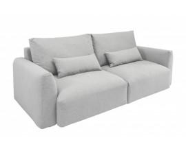 Moderná sedačka Zelga v sivom textilnom poťahu 240cm