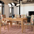 Luxusný rozkladací jedálenský stôl z masívu 160-220cm