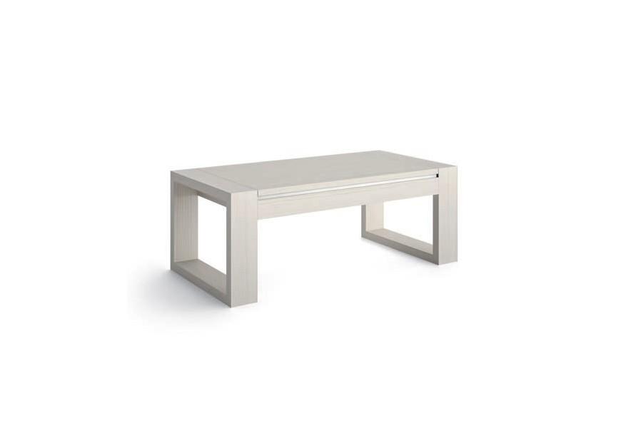Luxusný vyklápací konferenčný stolík Sajonia z masívneho dreva