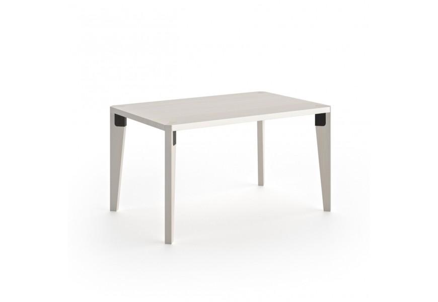 Exkluzívny jedálenský stôl obdĺžnikového tvaru z masívneho dreva