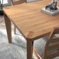 Luxusný nadčasový jedálenský stôl z masívneho dreva 160cm