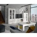 Luxusný TV stolík Véneto z masívu s poličkami a zásuvkami 140cm