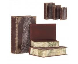Dekoračné knihy J/3 MARRON 30cm