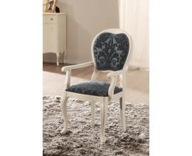Luxusná ruskálna jedálenská stolička Rustica s lakťovými opierkami