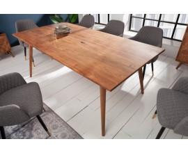 Štýlový masívny jedálenský stôl Mozaika 200cm akácia
