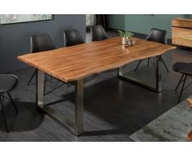 Industriálny jedálenský stôl Mammut z masívneho dreva a kovu 200cm