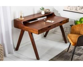 Masívny písací stôl so sekretárom Akacia 100cm z agátového dreva