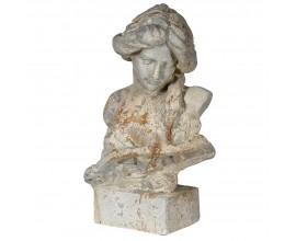 Štýlová antická busta ženskej postavy 47cm