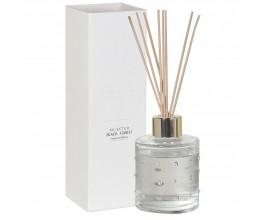 Aroma difuzér diamantový jantár biely 23cm