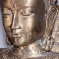 Luxusná zlatá socha Diosa na vysokom podstavci 170cm