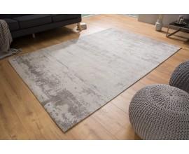 Nadčasový béžovo-sivý bavlnený koberec Adassil obdĺžnikového tvaru vo vintage prevedení