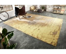 Orientálny vkusný koberec Adassil žltej farby s industriálnym nádychom 350cm