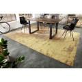 Nadčasový bavlnený koberec Adassil v industriálnom štýle obdĺžnikového tvaru