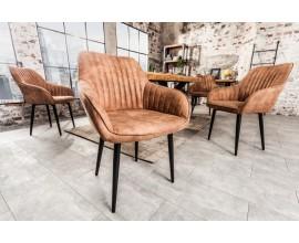 Dizajnová stolička Timeless Comfort hnedá