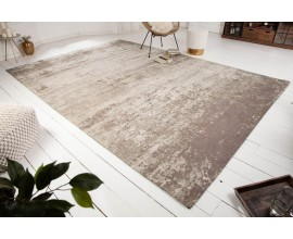 Orientálny nadčasový obdlžnikový koberec Adassil béžovej farby 350cm
