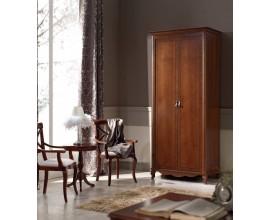 Luxusná rustikálna šatníková skriňa CASTILLA 2-dverová 99cm