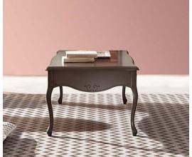 Luxusný masívny konferenčný stolík RUSTICA 60cm
