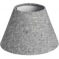 Chrómová stolná lampa Fewlson rustikálna 37cm