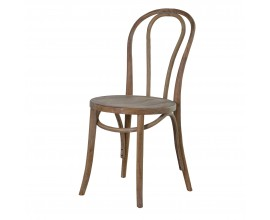 Štýlová jedálenská stolička z dubového masívu Bernadette