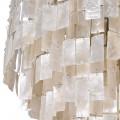 Luxusný perleťový luster Nacre v bledom odtieni 60cm