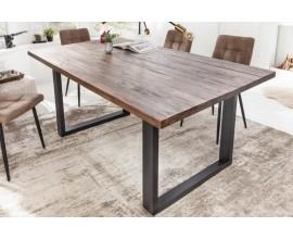 Industriálny jedálenský stôl Morgana z akáciového dreva 160cm