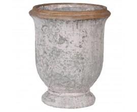 Štýlový hlinený kvetináč Urn 47cm