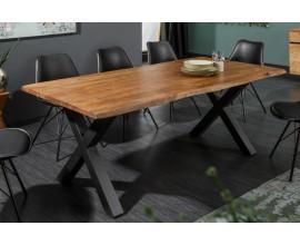 Štýlový jedálenský stôl z masívu Mammut X 160cm