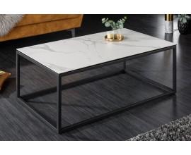 Moderný konferenčný stolík Collabor s mramorovým efektom 100cm