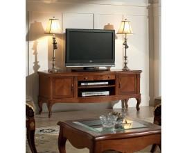 Luxusný intarzovaný rustikálny TV stolík Castilla 150cm