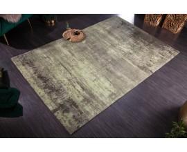 Elegantný koberec Adassil vo vintage štýle béžovo-zelenej farby