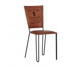 Vintage kožená stolička LIVERPOOL