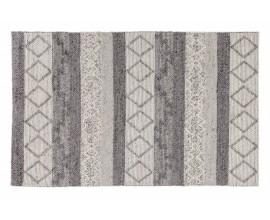 Škandinávsky obdĺžnikový koberec Cordeo v šedom modernom odtieni 240x160cm