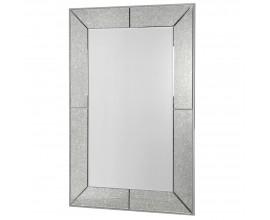 Art-deco nástenné zrkadlo Arieda so sivým rámom z dreva a skla 150cm