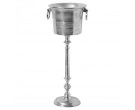 Luxusný strieborný stojan na šampanské 90cm