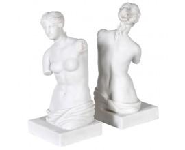 Antická štýlová biela zarážka na knihy Venuša