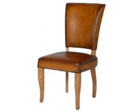 Exkluzívna kožená jedálenská stolička Pellia