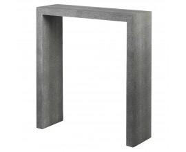 Moderný konzolový stolík Shagreen v sivej farbe 75 cm