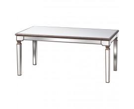 Luxusný zrkadlový jedálenský stôl BELFRY 180x90cm